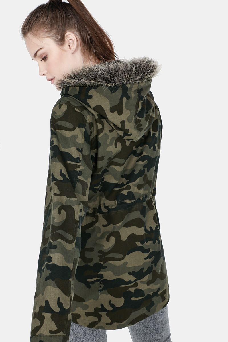 8ff9fce6a6d13 Camouflage Parka - Jackets - Shop by Category - Ladies