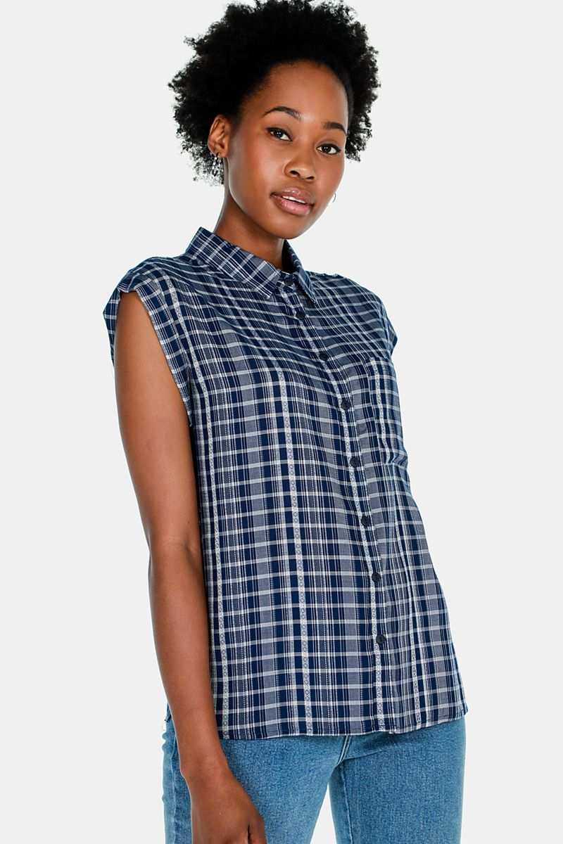 24866071ac15f Check Shirt - Shirts   Blouses - Shop by Category - Ladies