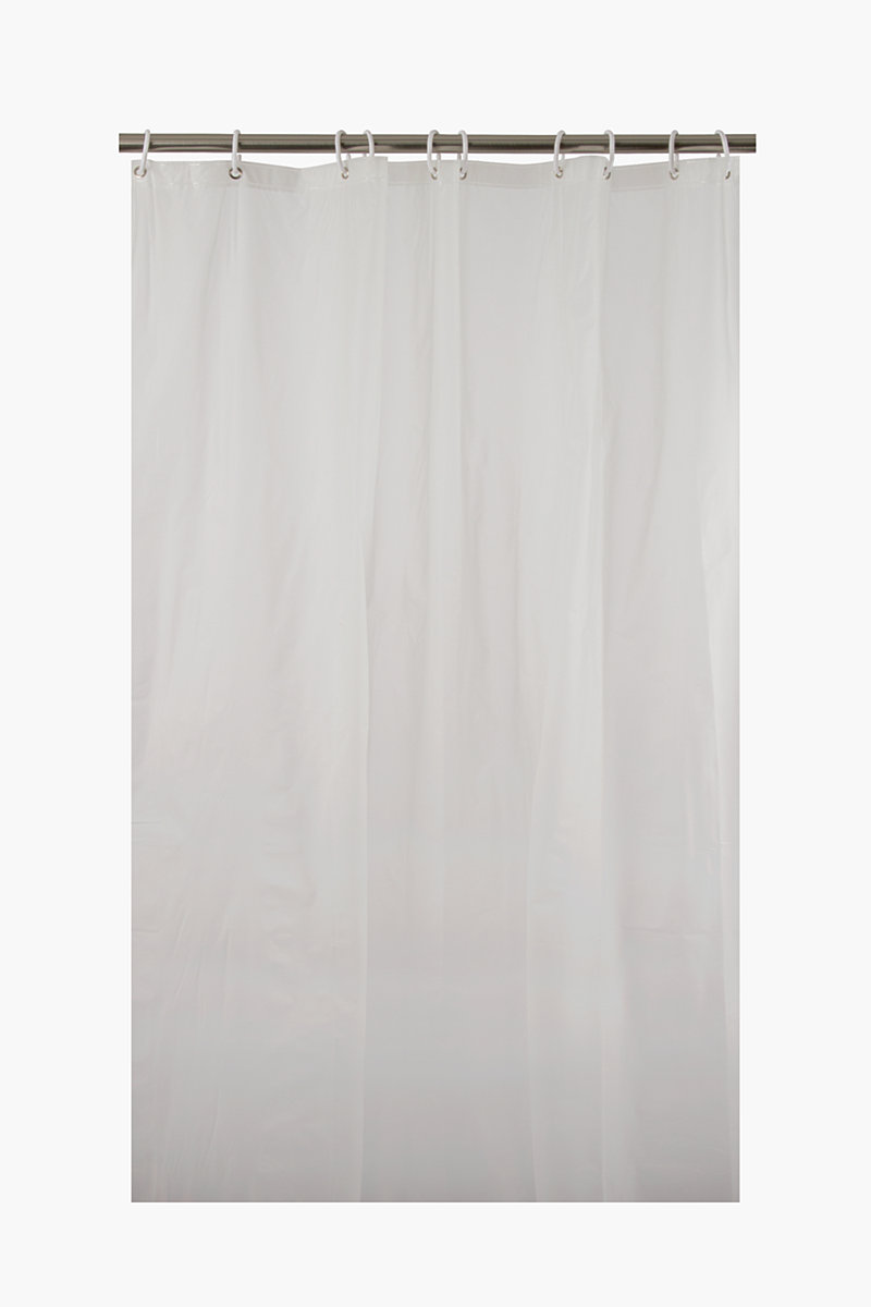 Frosted Plain Shower Curtain