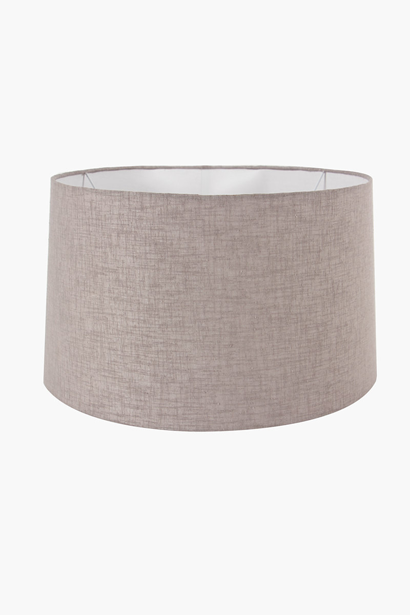 cotton tapered extra large lamp shade lamp bases shades shop. Black Bedroom Furniture Sets. Home Design Ideas