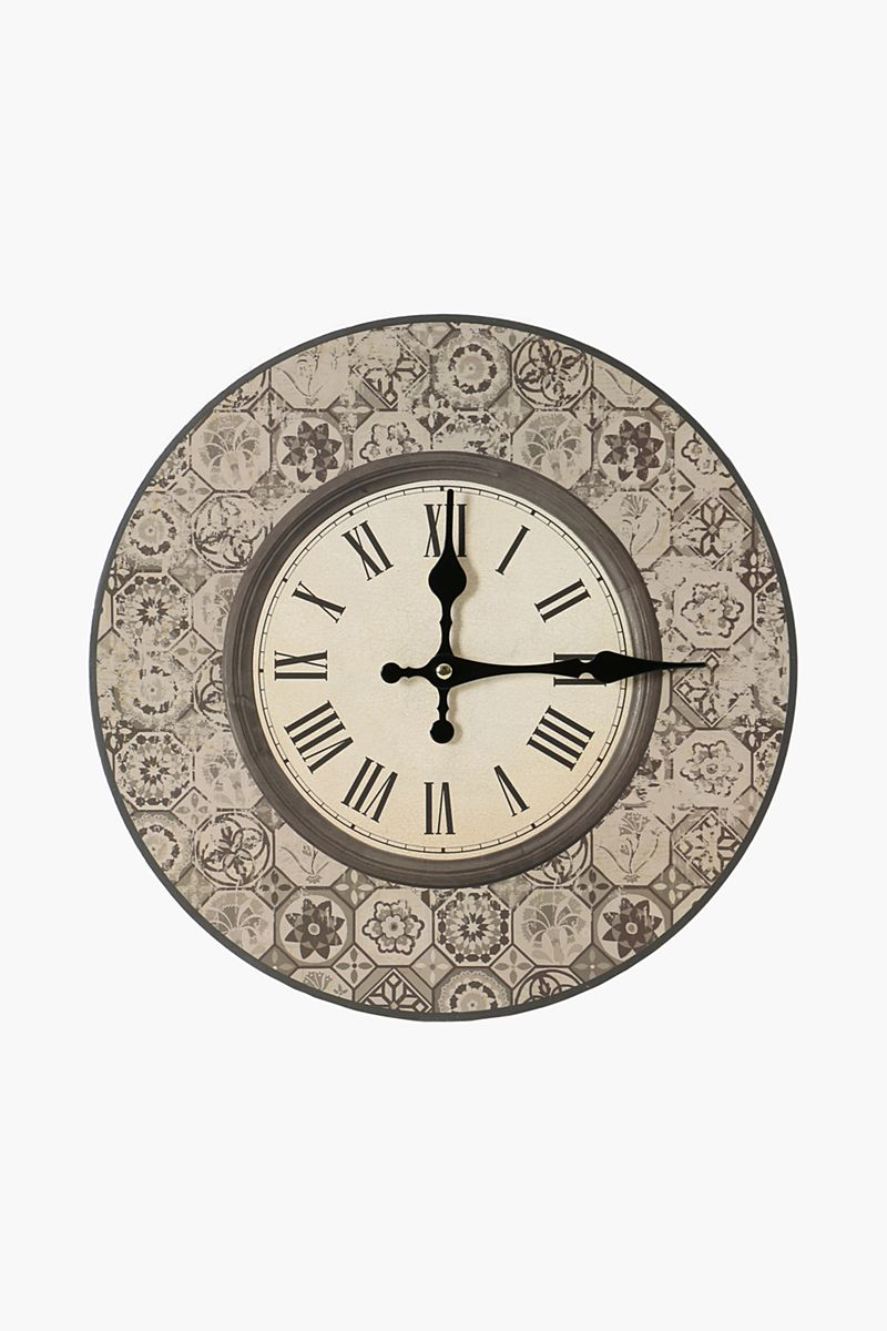 Moroccan Tile Wall Clock Shop New In Home D 233 Cor Shop