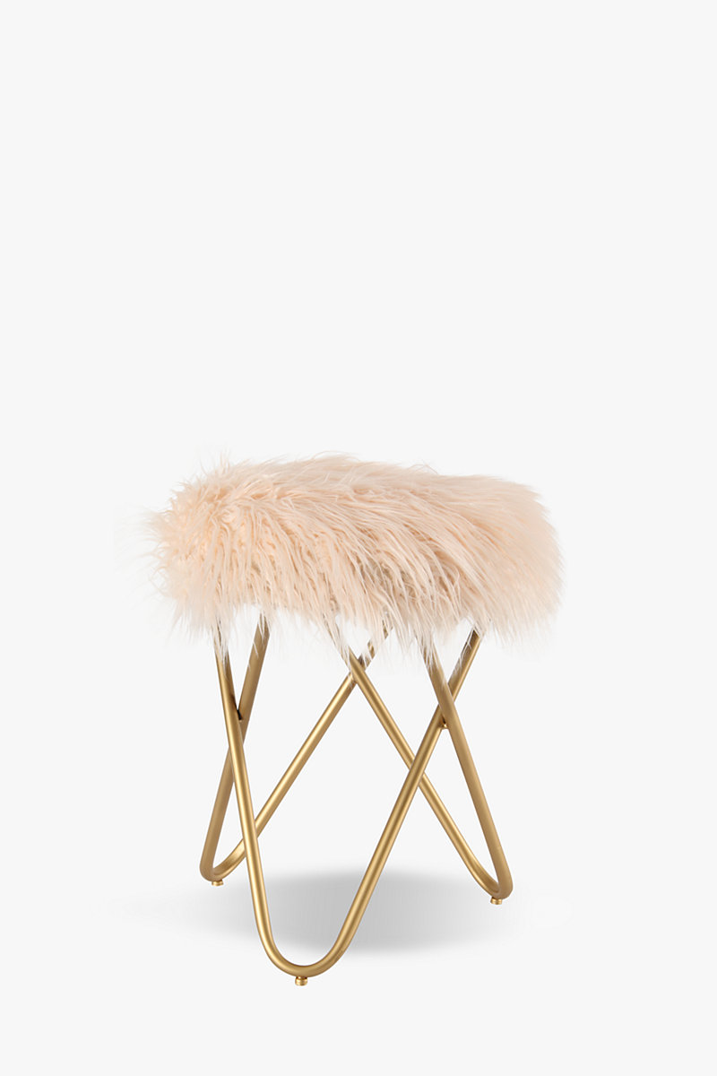 Faux Fur Stool Shop New In Furniture Shop