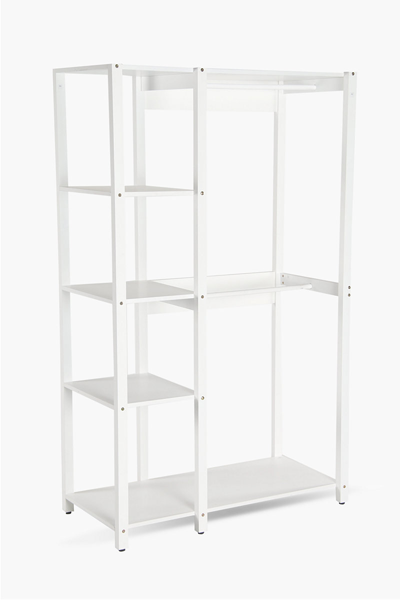 Open shelving unit shelves room divider screens shop - Open shelving living room ...