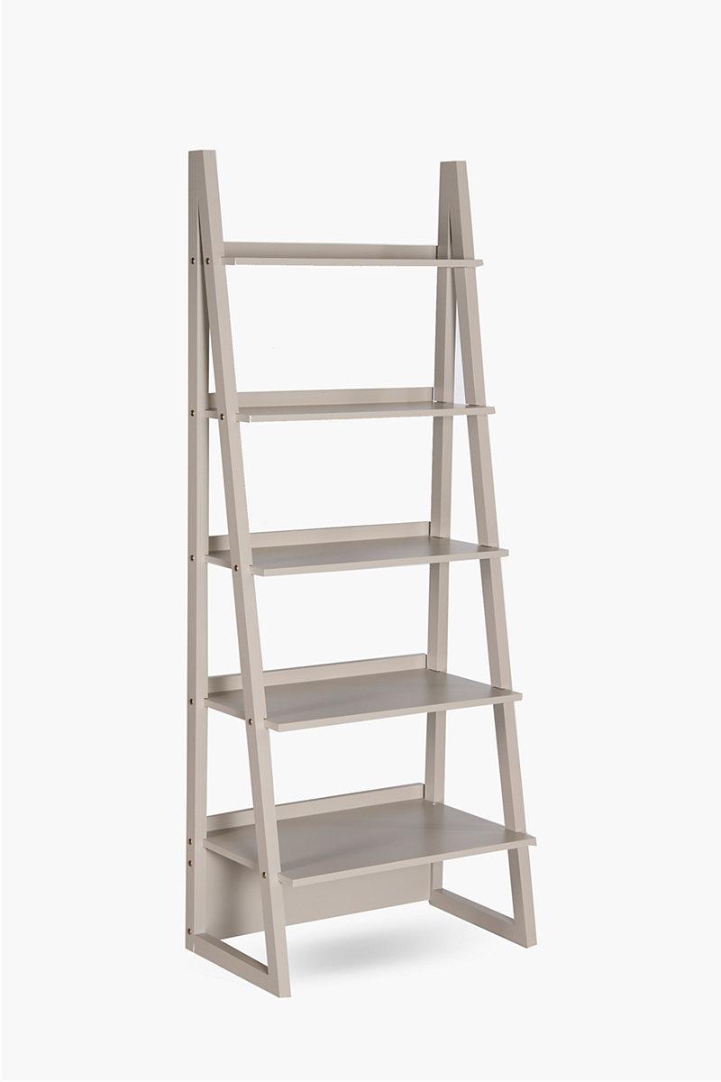 ladder shelf shelves room divider screens shop living room. Black Bedroom Furniture Sets. Home Design Ideas