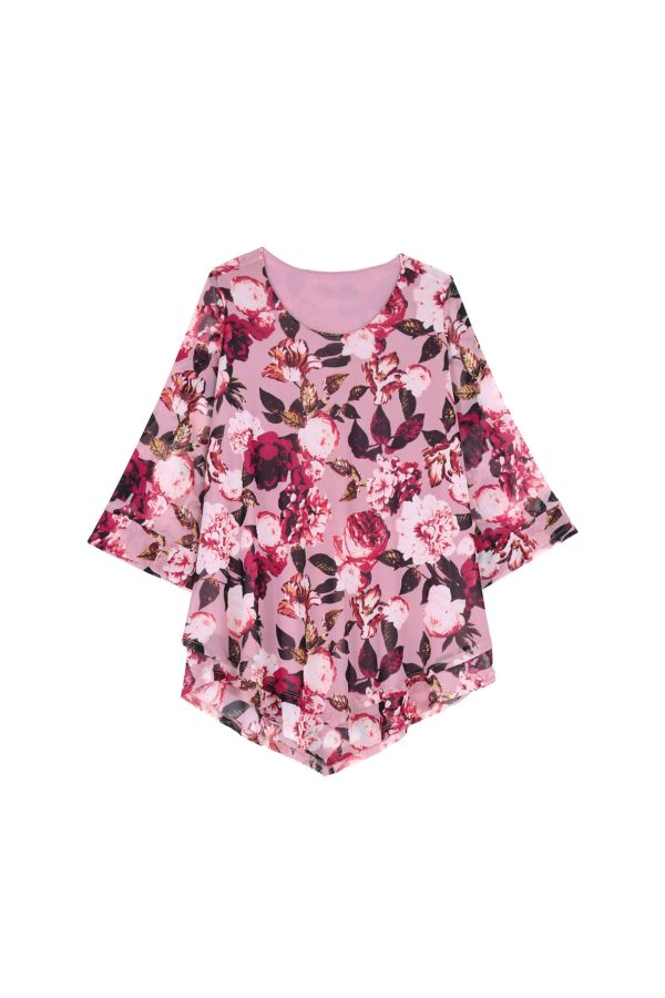 FLORAL LAYERED TOP