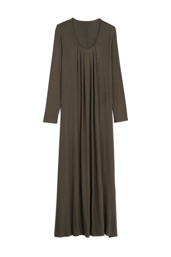 A-LINE MAXI DRESS