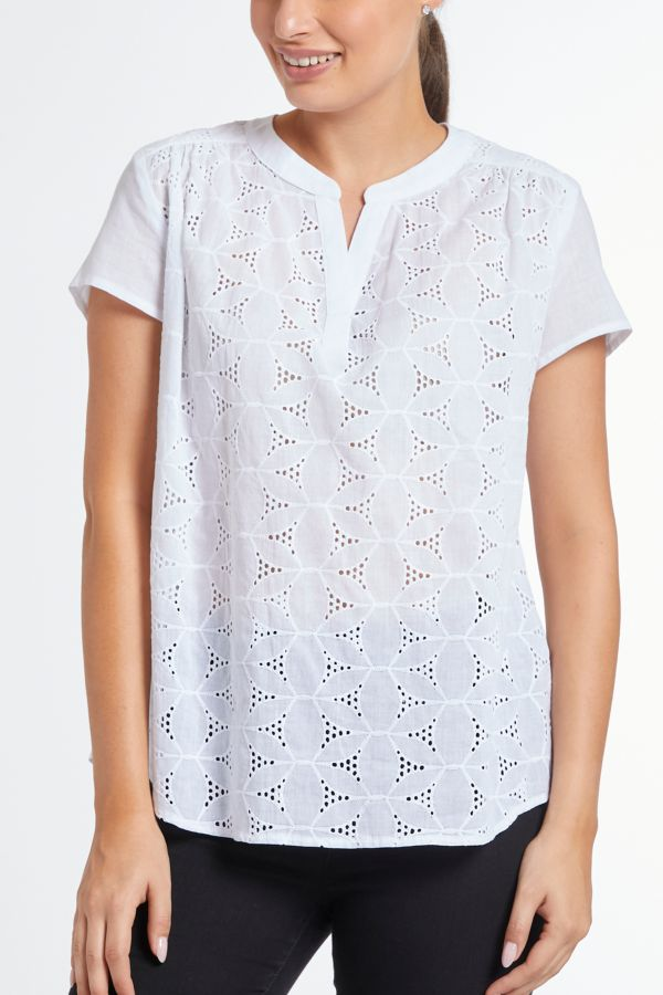 ANGLAISE HENLEY TOP