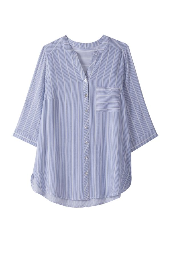 RELAXED STRIPE SHIRT