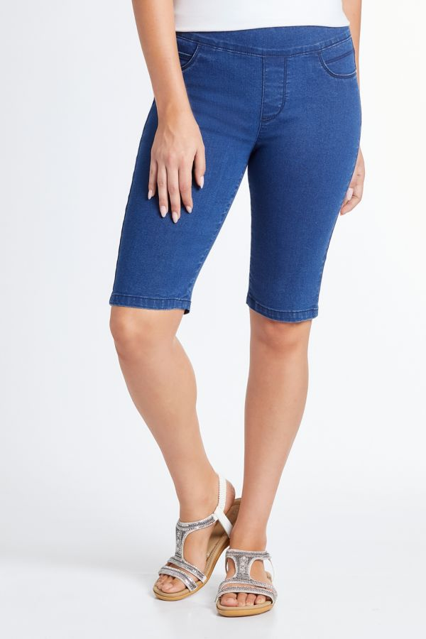 PULL ON JEGGING BERMUDAS