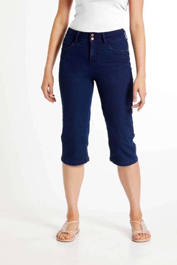 WONDERFIT DENIM CROPS