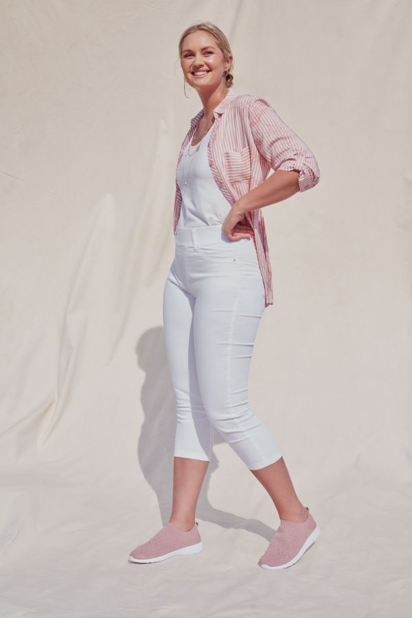 PULL ON CROPPED JEGGINGS
