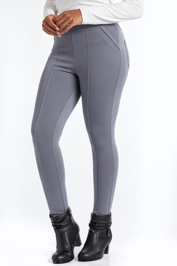 PONTE LEGGINGS - Grey