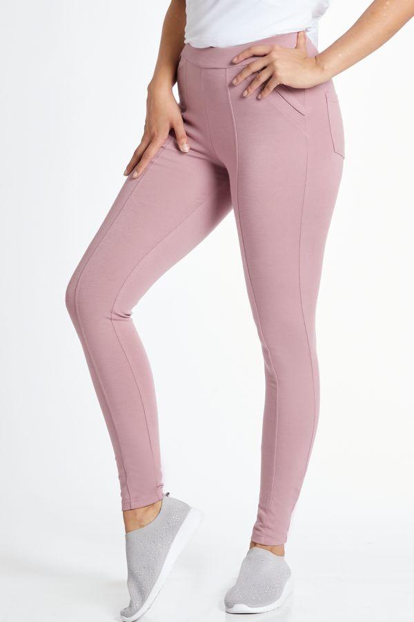PONTE LEGGINGS - Pink