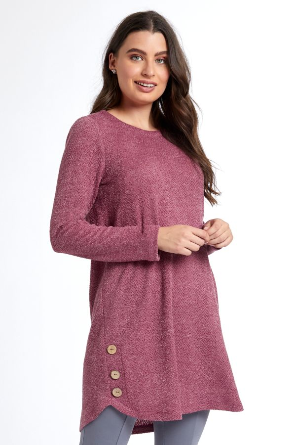 TEXTURED KNIT TUNIC
