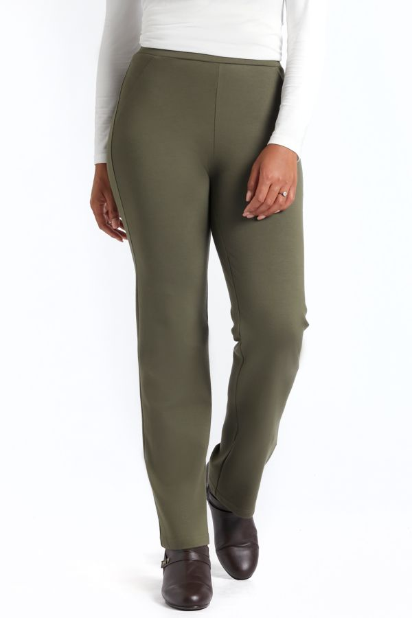 PONTE STRAIGHT LEG LEGGINGS