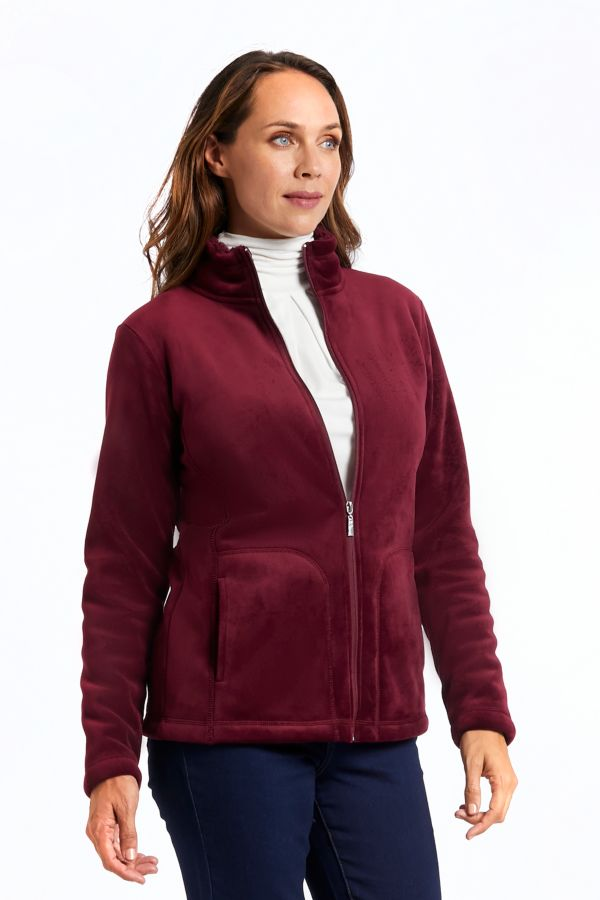 SHEPRA LINED ZIP THROUGH JACKET