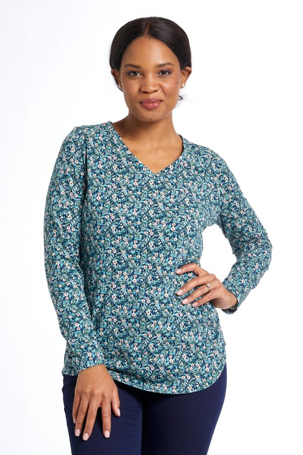 DITSY FLORAL TOP