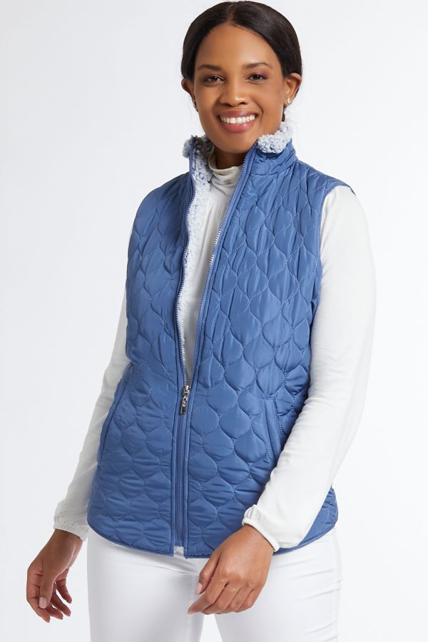 SHERPA LINED PUFFER GILET