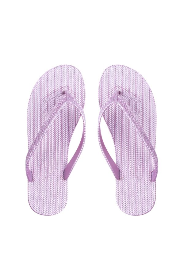 JELLY THONG SLOPS