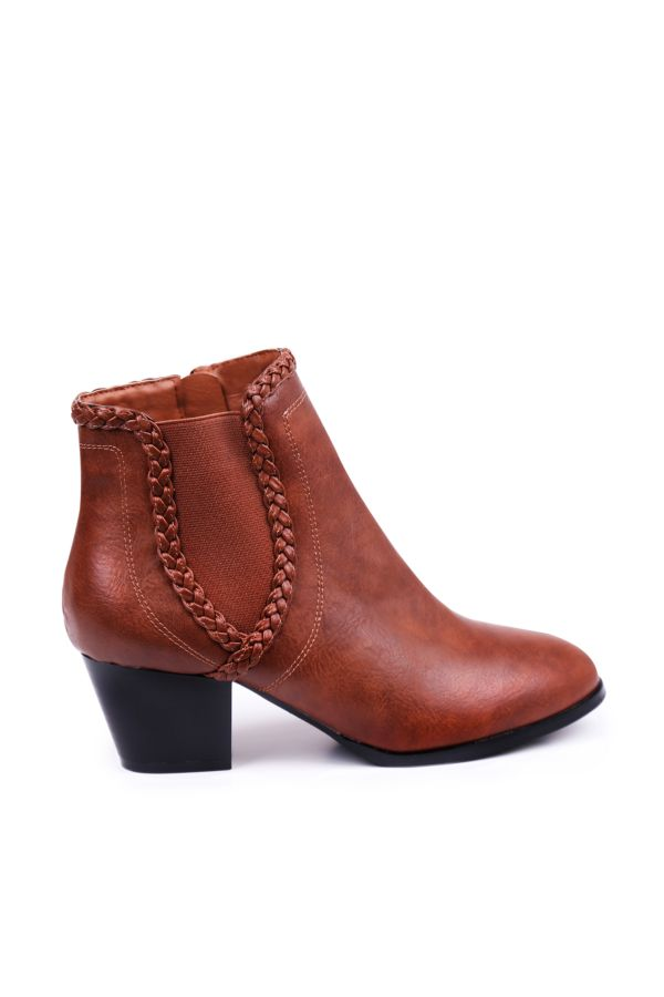 BRAIDED ANKLE BOOT