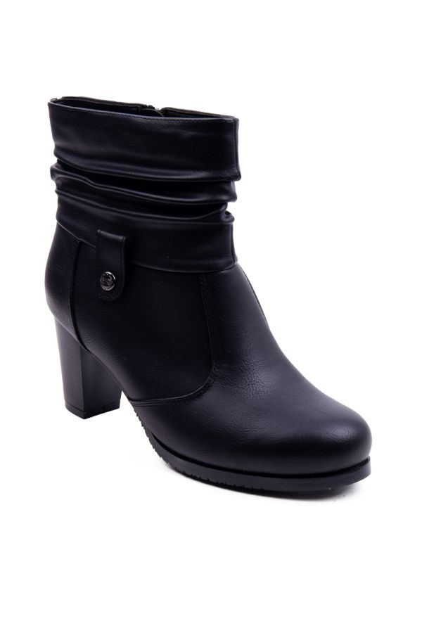 ROUCHED ANKLE BOOT
