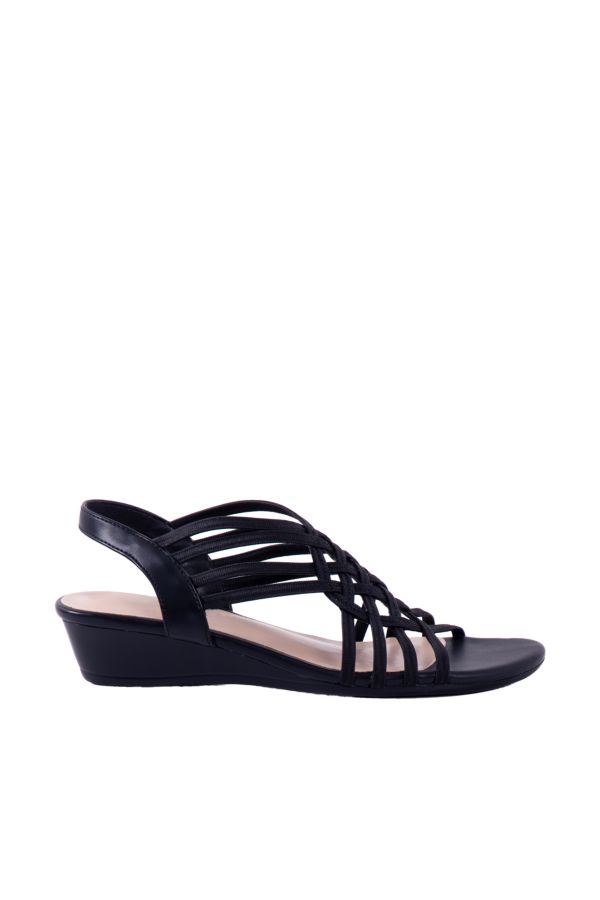 STRAPPY WEDGE