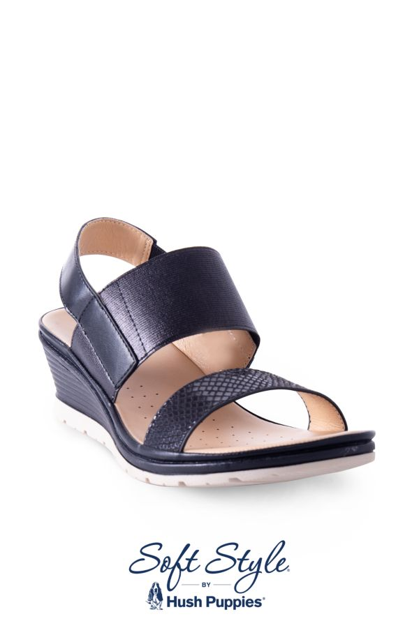 STRAPPY WEDGE - Hush Puppies