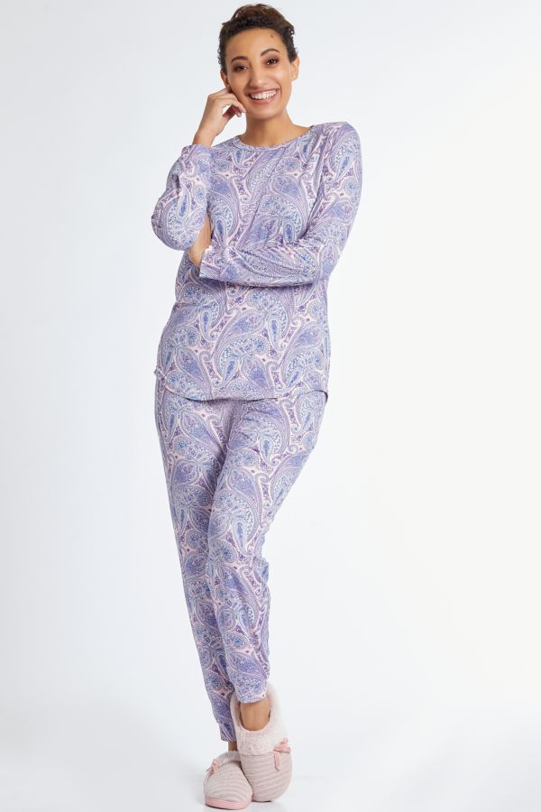PAISLEY PRINT SLEEP SET