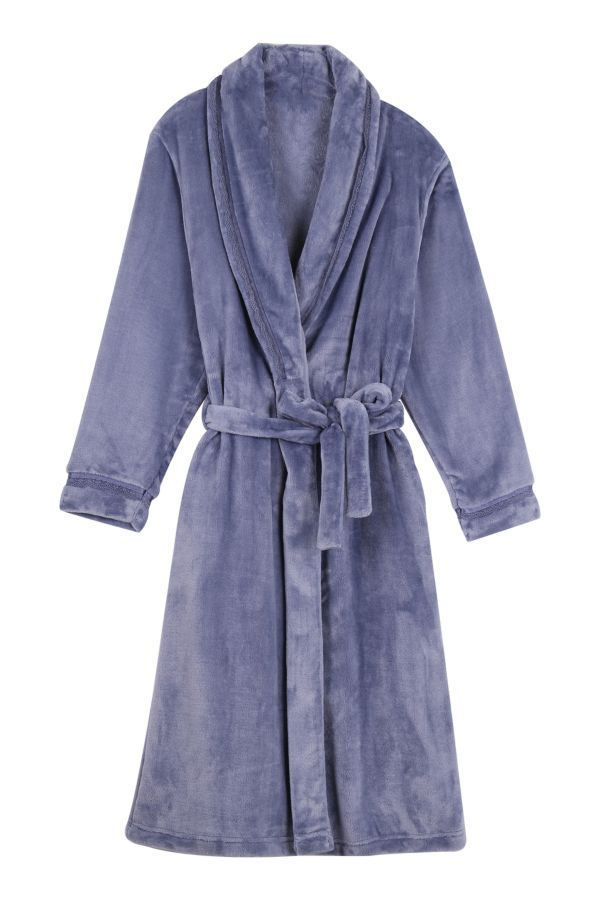 CORAL FLEECE GOWN