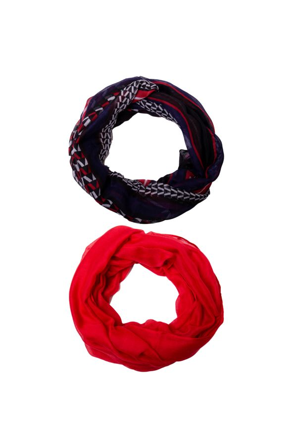 2 PACK SNOODS