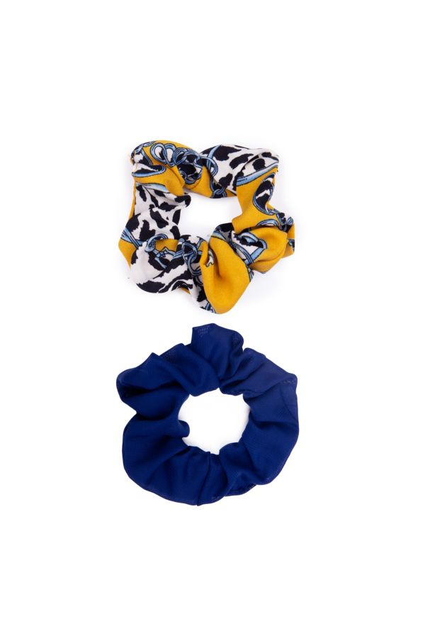 2 PACK SCRUNCHIES