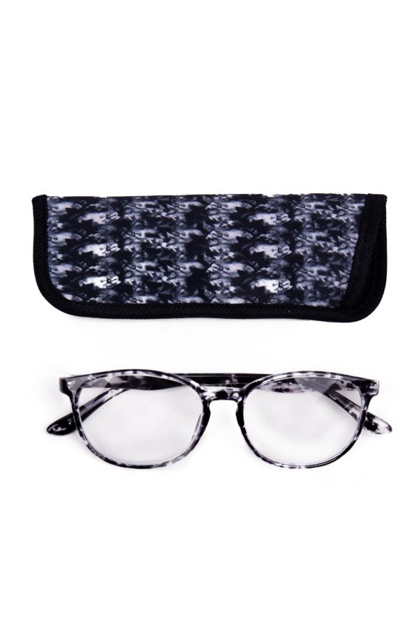 PRINTED READING GLASSES