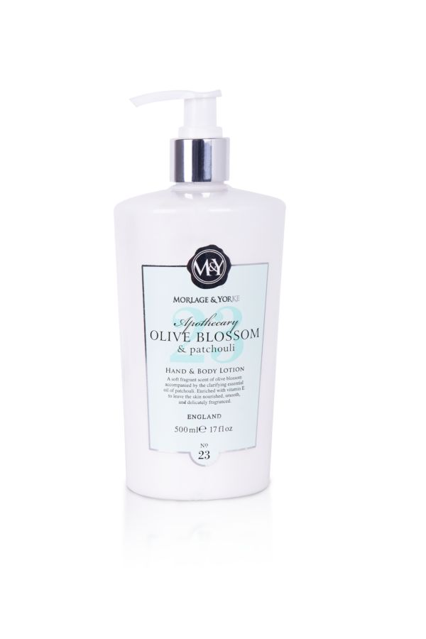 HAND AND BODY LOTION - Olive Blossom and Patchouli