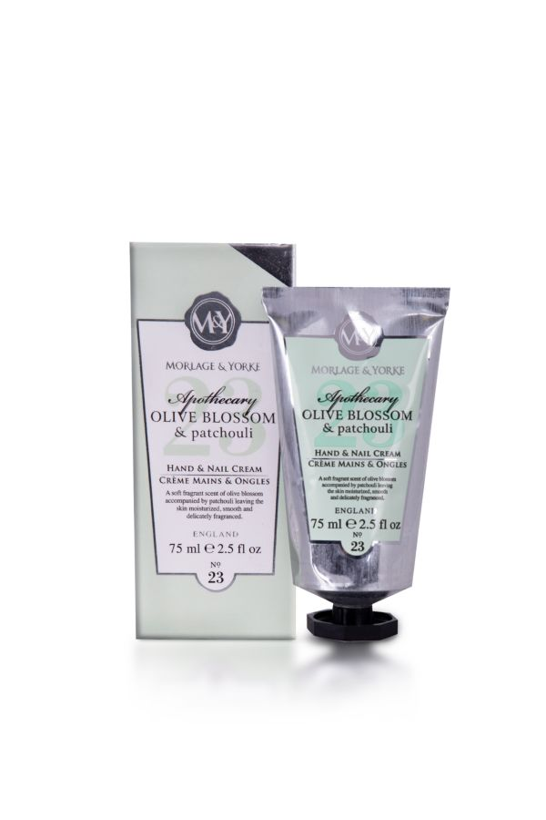 HAND & NAIL CREAM - Olive Blossom and Patchouli