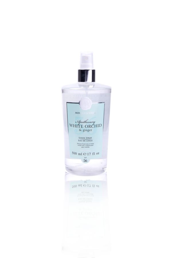 LINEN SPRAY -  White Orchid and Ginger