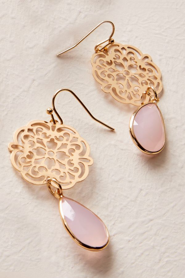 CUT OUT DROP EARRINGS