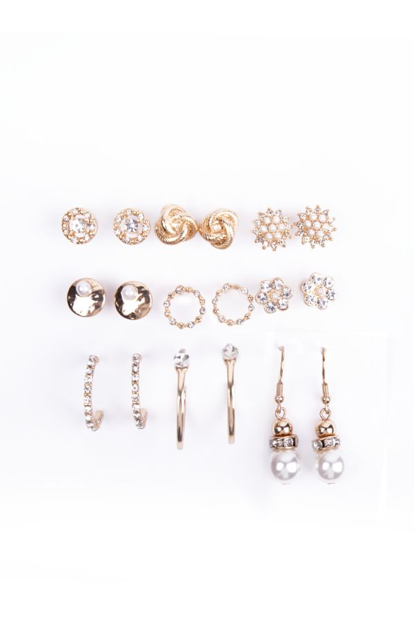 9 PACK EARRINGS